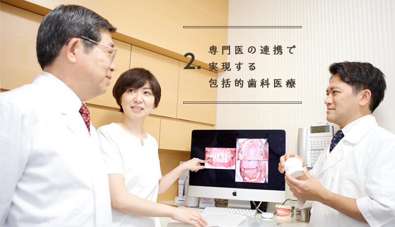 専門医の連携で実現する包括的歯科医療